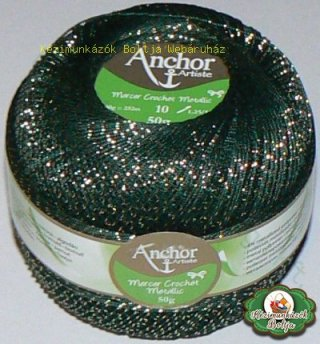 Anchor Artiste Mercer Crochet Metallic 7683