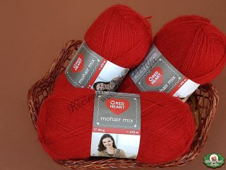 Red Heart Mohair Mix kötőfonal - 1175