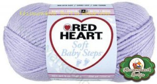 Red Heart Soft Baby Steps kötőfonal 10