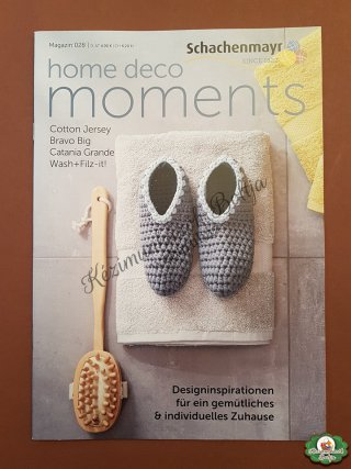 Schachenmayr Moments kiadvány - Home DECO Moments Nr.028