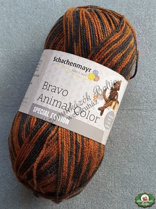 Schachenmayr Bravo Animal Color Special Edition kötőfonal - 81